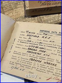 WW2 Medals + Demob Book + Army Driver License + Discharge Cert. Pte Bayfield NSW