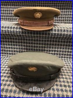 WW2/Miliatary Lot Of 20+ PURPLE HEART Medal & Case (Authentic) Hats, Patches Etc