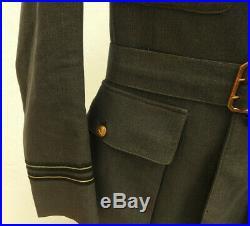 WW2 Military RAF Tunic Uniform Royal Air Force Pilot Wings DFC Medal Bar (5272)
