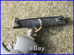 WW2 Navy & USMC Medal Lot of 4 Rare Split Brooch Medal