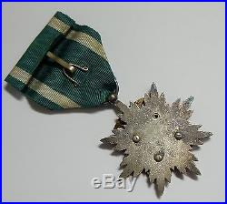 WW2 Nice! 5th Class ORDER of GOLDEN KITE MEDAL STERLING SILVER JAPANESE JAPAN