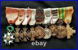 WW2 Original set French Medals 1939-1945 French Foreign Legion Indochina Vietnam
