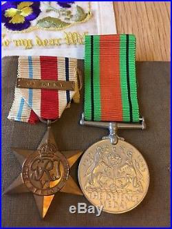 WW2 Royal Artillery Medal Group and Ephemera