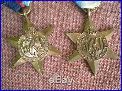 WW2 Royal Canadian Air Force Memorial Atlantic Medal Grouping to JOHNSTON 200sqd