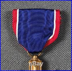 WW2 US Army Distinguished Service Cross Robbins DSC Medal