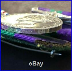 WW2 and Post War Medal Group Army Air Corps Parachute Regiment Bailey