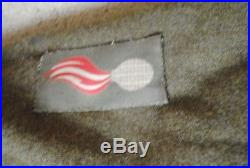 WW2 polish NCO battledress blouse with medals in box