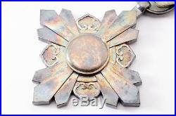 WWII Japan Manchukuo 8th Order Auspicious Clouds Medal Japanese China kite WW2