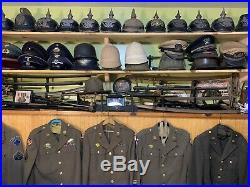 WWII WW2 Uniform Ike Jacket Navy Army Marine Medal Hired to Sell Collection