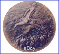 WW. 1 Battle of Marne Commemorative Bronze Medal / Jules-Prosper Legastelois. M55