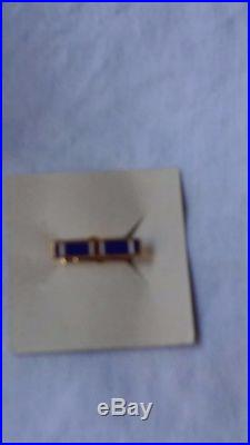Ww II Us Navy Distinguished Flying Cross Medal Ribbon Lapel Pin Case Named