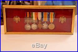 World War 1 English War Medals 1914 Set of 5