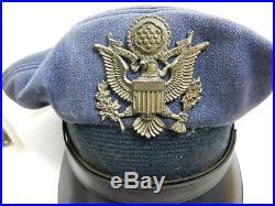 World War 2 US AIR FORCE Bomber Pilot Commander Collection Medals Hat Flight Log
