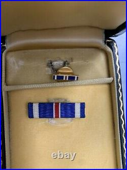 World War II Medals Ribbons And Boxes Lot Of 30 Plus Paperwork