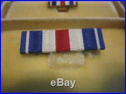 World War II Silver Star Medal in Coffin Case WWII