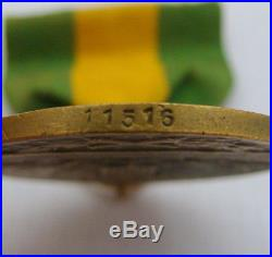 World War I WWI For Service On The Mexican Border Medal Numbered 11516