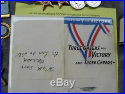 Ww11 Aif Australian P. O. W Medal Group Died 1943 Thai-burma Railway Large Lot