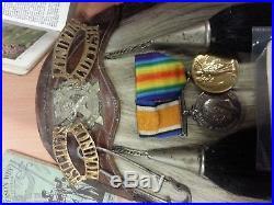 Ww1 14th battalion london regiment London Scottish. Sporan medals photos bible