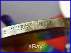 Ww1 1914-15 Star, Bwm & Victory Medals, Staff Nurse, Qaimnsr, Hosp. Ship Britannic