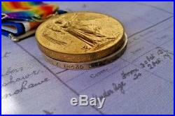 Ww1 1914/15 Trio Of Medals To Bugler J E Brown Rmli Enlisted At 14 Years Old