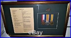 Ww1 Australian Gallipoli 1st Day Lander Medal Group 1549 Pte T Fimister 2nd Bn