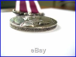 Ww1 British Meritorious Service Medal 139 C. Q. M. Sjt F Morgan 9/r. Fusiliers