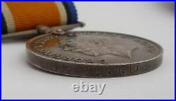 Ww1 British War And Victory Medal Pair Royal Irish Rifles Kia Pilckem Ridge