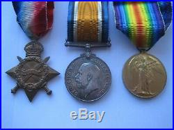 Ww1 Death Plaque & Medals To Weller Brothers, Royal West Kent R & Canadian Inf