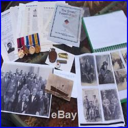Ww1 Distinguished Conduct Medal (dcm) & Trio 21st Battalion Aif Australian