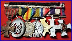 Ww1 Dso & MC Medal Group Lt Colonel E Hughes London Regt & Machine Gun Corps