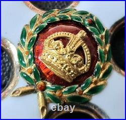 Ww1 Era Distinguished Service Order Medal Gvr Cased By Garrard & Co Australia