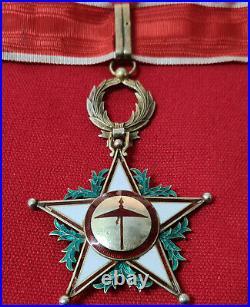 Ww1 Era Morroco Order Ouissam Alaouite, Type 1 Grand Commander Medal & Star Set