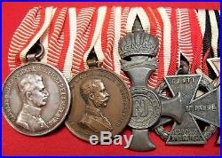 Ww1 Kingdom Of Austria Hungary 8 Place Medal Bar Ww2 Croat Medal Anti Partisan