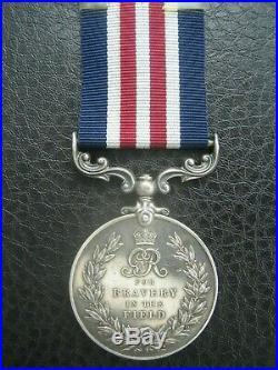 Ww1 MM Gallantry Military Medal Kia 1917