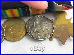 Ww1 Medal Trio, Meritorious Service Medal Set Military Mounted Police