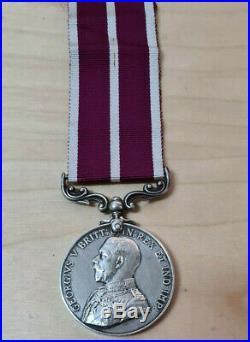 Ww1 Mesopotamia Meritorious Service Medal Lance Cpl Mathieson British Army