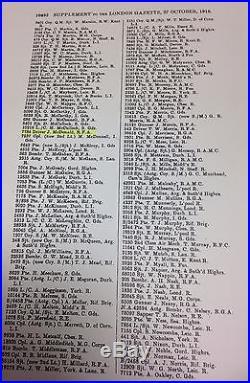Ww1 Military Medal. 7784. Dvr. J. McDONALD. 14/ D. A. C. R. F. A. Early 1915/16 award