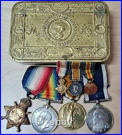 Ww1 U-boat Attack Royal Navy Killed In Action Medals 75516 J Palmer Hms Vernon