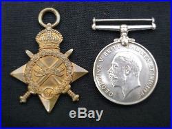 Ww1 V. A. D. Nurse 1914-15 Star And Bwm Medals To H. E. Davies Served Egypt