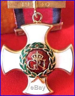 Ww1 & Ww2 British Distinguished Service Order Medal Group Brigadier General