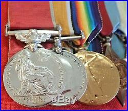 Ww1 & Ww2 Naval British Empire Medal Group Malluburn. MID Sinking Scharnhorst