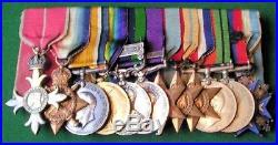 Ww1 & Ww2 R. A. M. C Officers Medal Group With O. B. E & Serbian Order Of St. Sava
