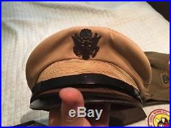 Ww2 Air Corp-air Force Pilots Collection Name To Colonel -knife, Wings, Medals