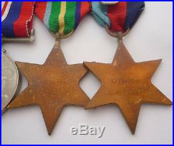 Ww2 Australia Service Medal Pacific Star Group Of 4 Served In Papua New Guinea