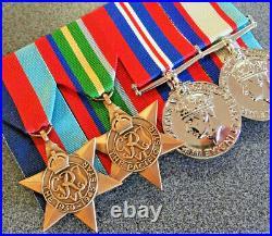 Ww2 Australian Pacific Kokoda Medal Group Replica Anzac Mounted To Wear