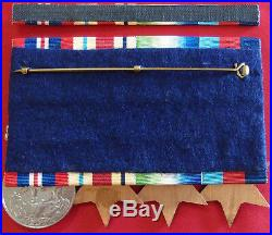 Ww2 British Australian Navy Air Force Army Medal Group Of 4 Court Mounted