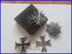 Ww2 German 1st Class Medals All Original L@@k