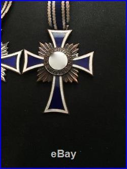 Ww2 German Mother's Medal Set
