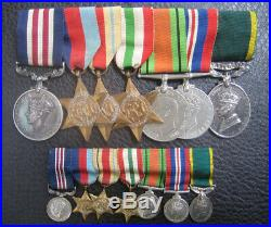 Ww2 Military Medal MM And Document Group Italy