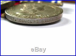Ww2 Original Air Crew Europe Medal Group Police Lsgc Sergt Douglas L Lewis